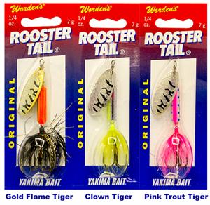 Rooster Tails New Colors