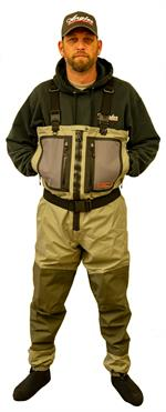 Fish Field Waders Full Zip